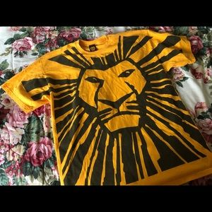 The Lion King musical tee